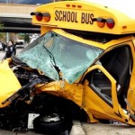School Bus Hits Car in Virginia; 9 Injured