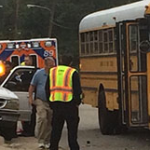 Semi-truck Hits School Bus in Tennessee; 5 Injured