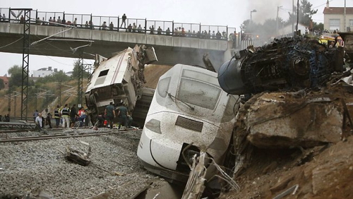 Update on Spanish train crash Santiago de Compostela